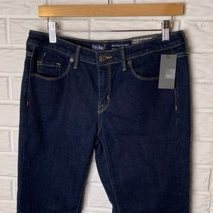 😊 Mossimo NWT Jeans Size 8 Mid-Rise Straight Crop